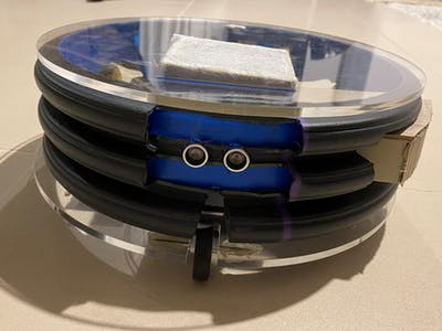 Automatic House Cleaner Robot