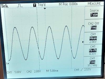 Arduino Sinewave Generator
