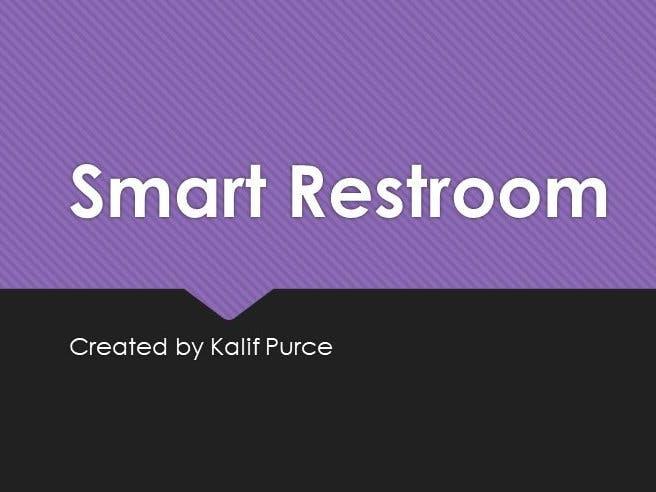 Capstone Project-Smart Restroom