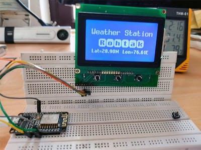 Internet Weather Station