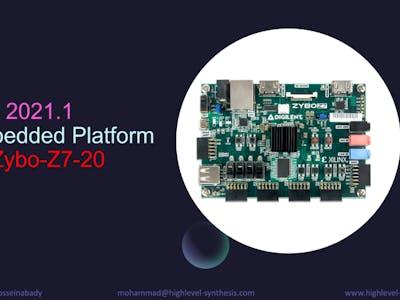Vitis 2021.1 Embedded Platform forZybo-Z7-20