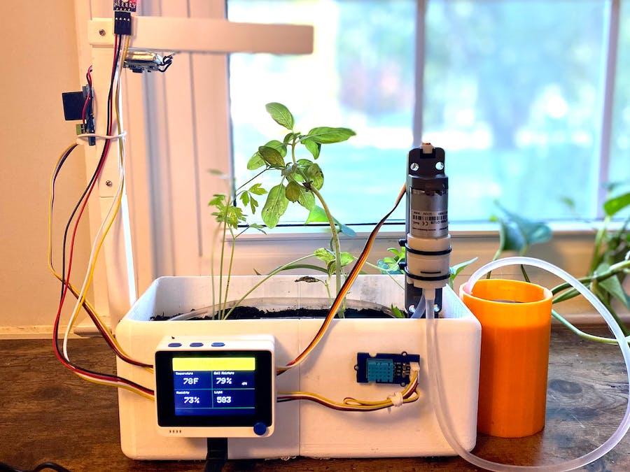 Smart Indoor Harvesting Using Wio Terminal & Blynk