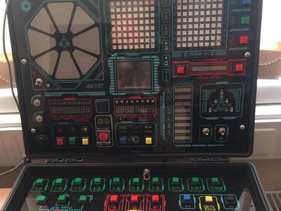 """Star Trek"" and ""Elite"" Style Game, Spaceship Simulator"