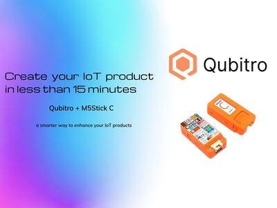 Create your IoT product in less than 15 minutes