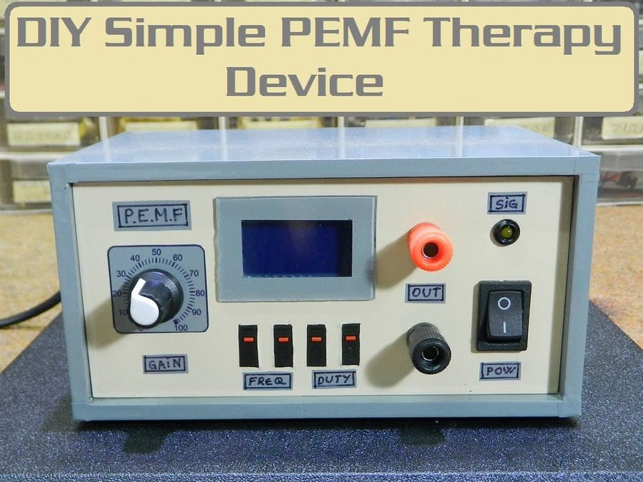 DIY cheap and super simple PEMF Magnetic Therapy device