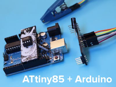 Programming ATtiny85 Chips (DIP and SOIC) with Arduino Code!