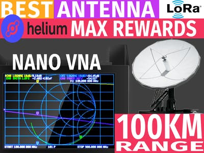 Antenna testing Tutorial | How to use NanoVNA SAA2N Helium