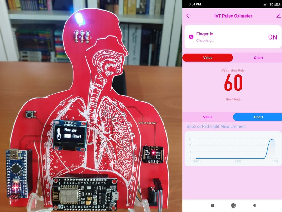 IoT Heart Rate (BPM) Monitor and Tracker w/ Tuya Smart