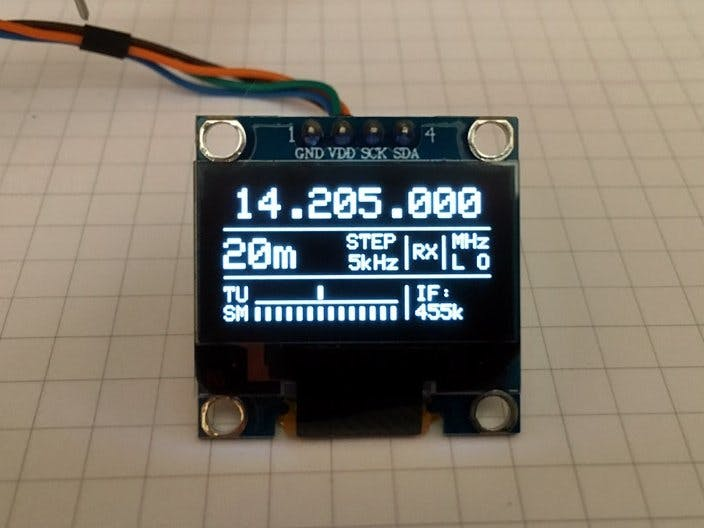 10kHz to 225MHz VFO/RF Generator with Si5351 - Version 2