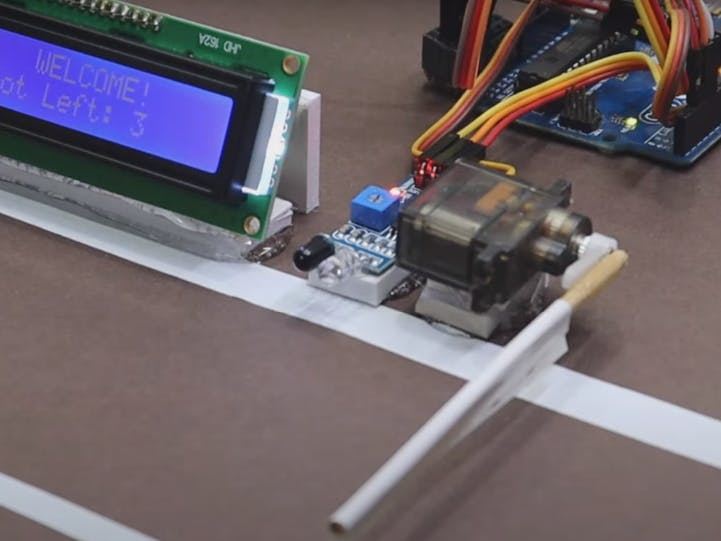 Automatic car parking system project Using Arduino