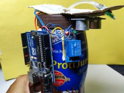 Simple Automatic Arduino hand Sanitizer