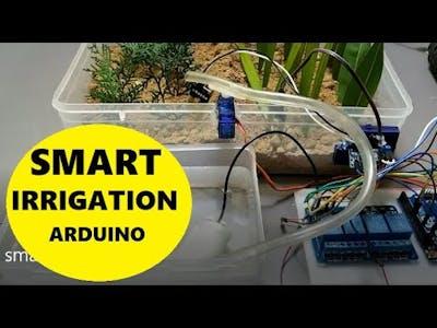 Smart Irrigation System using Arduino