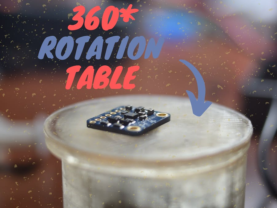 360* Table for Taking Nice Shots