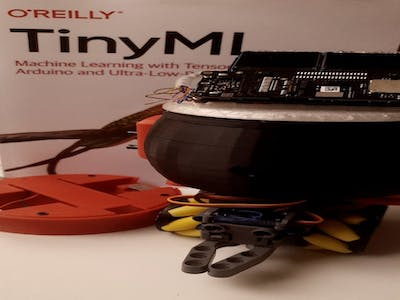 With eyes on the edge: A Desktop Robot Based on TinyML
