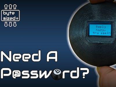 Magic 8 Ball Password Generator
