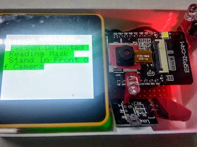 Mask and Heart Rate Detection using M5Core2