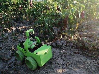 Good Bug - Raspberry PI weeding robot.