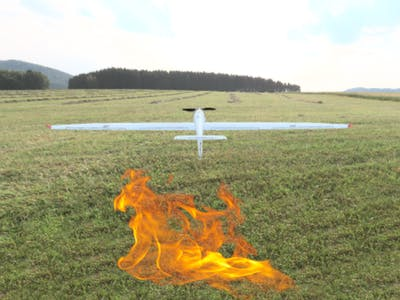 TinyML Aerial Forest Fire Detection