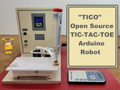 TICO - Open Source Tic-Tac-Toe Arduino Robot