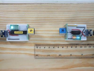 Ultrasonic – basic experiments with transducers