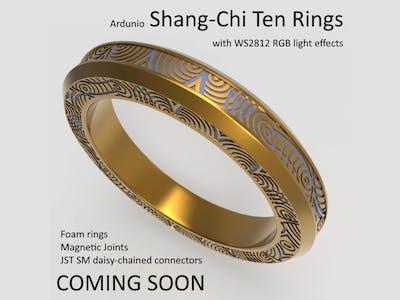 Coming Soon: Shang-Chi Ten Rings w/ xmas light effects