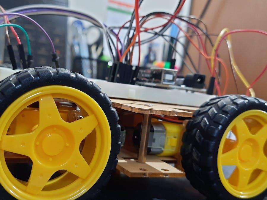 Phone Controlled Robot Car using Wi-Fi Module