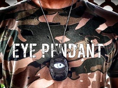Uncanny Eye Pendant with ESP8266 and TFT display