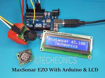 MaxSonar EZ0 Ultrasonics Sensor With Arduino