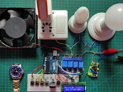 RTC based Automatic Home Appliances Control