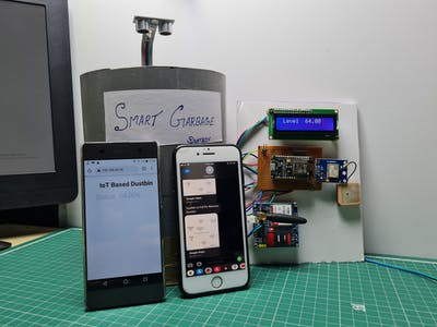 Smart Dustbin With GPS Location