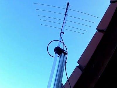 Simple UHF Antenna Rotator