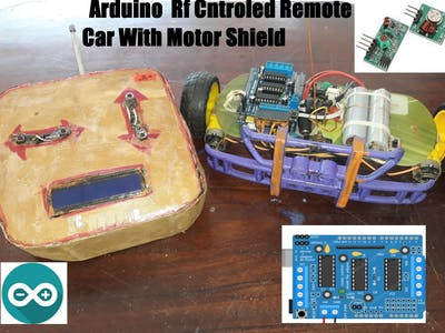 Arduino Rf Controlled Car