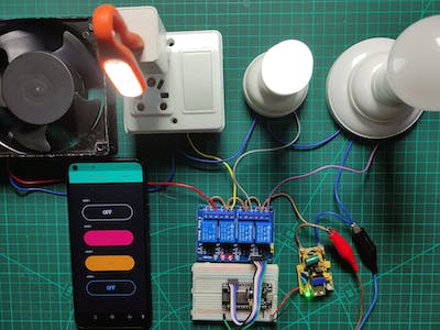 IOT based Home Automation Project