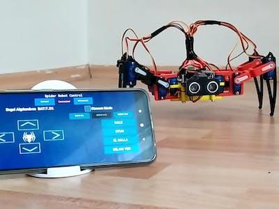 Autonomous Movıng Spider Robot
