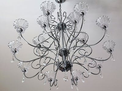 Remote control of a multi-light chandelier with Arduino