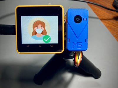 TinyML: Face Mask Detector with M5Stack Core2 and UnitV2