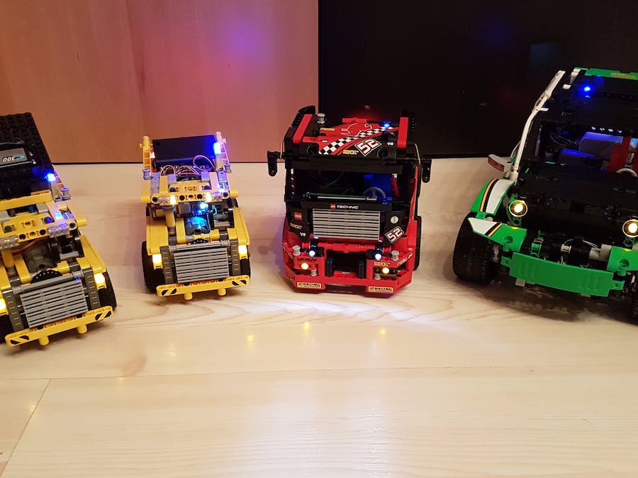 Bluetooth Remote Controllable Lego Cars Hacksterio