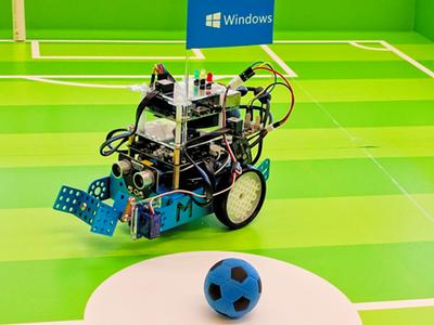 Pi Soccer Bot (High-School Hackathon Edition)