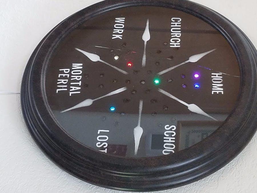 Weasley Clock (Magical Location Clock)