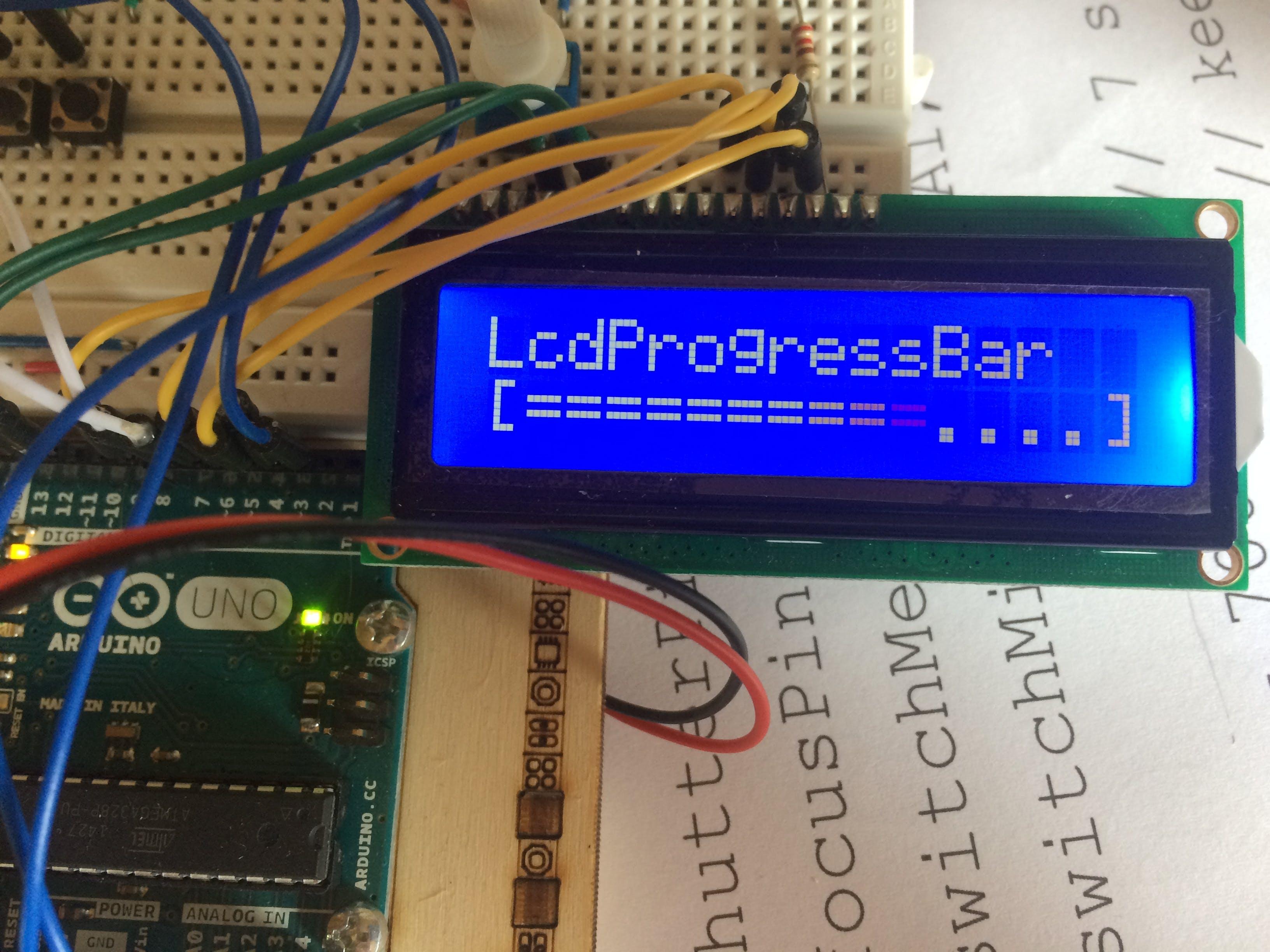LcdProgressBar