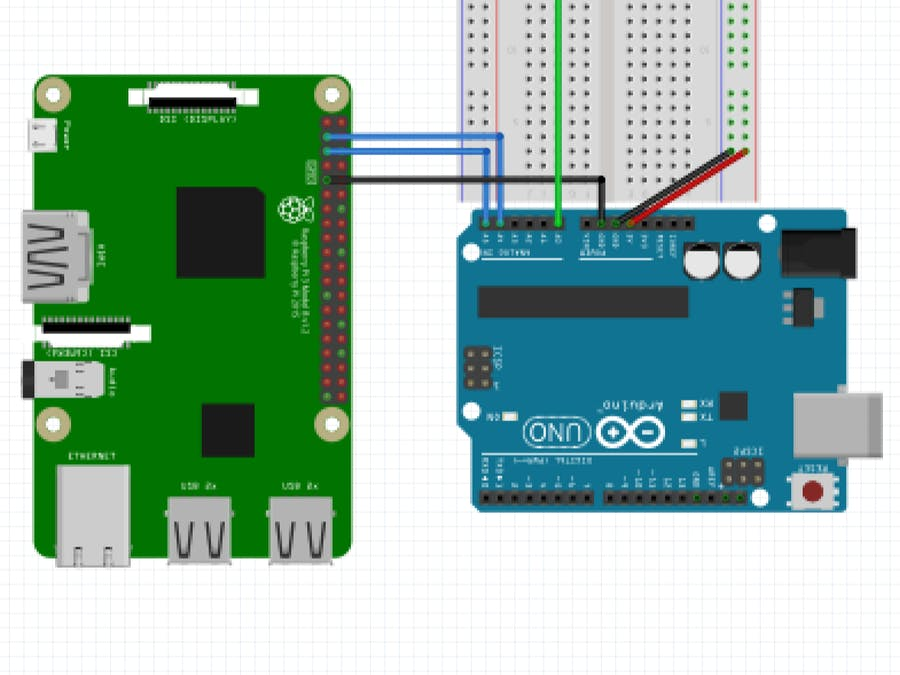 I2C Communication between Arduino and Raspberry Pi - Arduino Project Hub