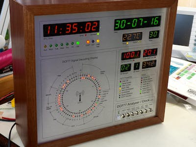 DCF77 Analyzer/Clock v2.0