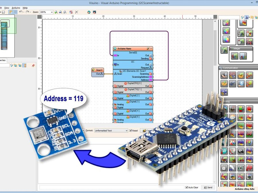 Scan the Arduino I2C Bus for Connected I2C Devices - Arduino