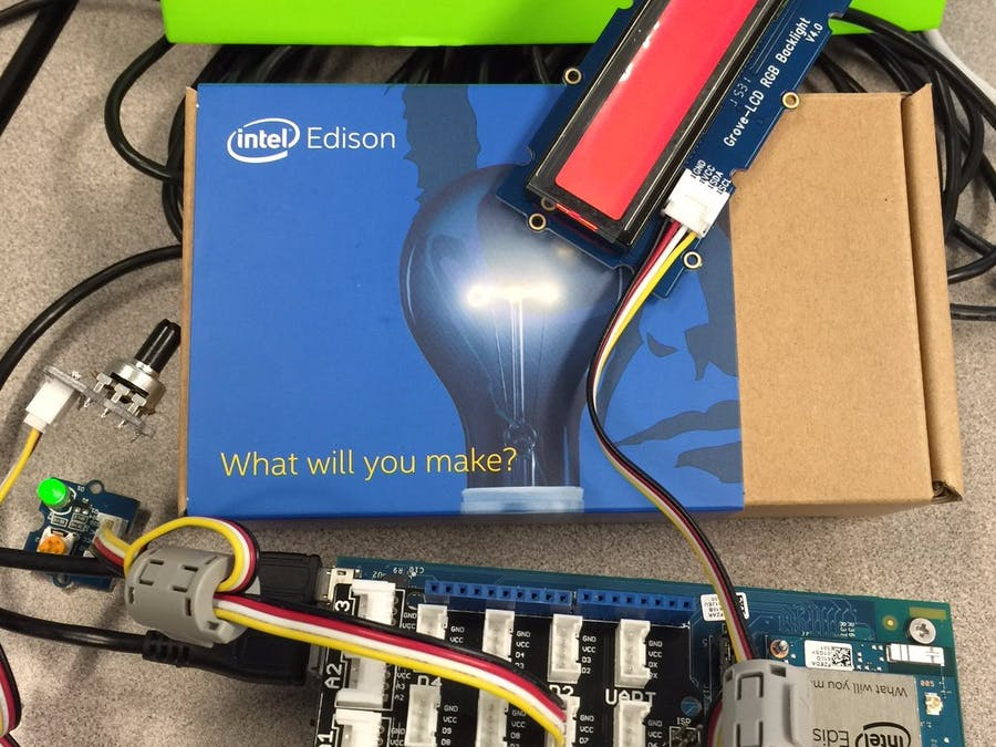 Grove LCD & Edison XDK Toolchain Checkout