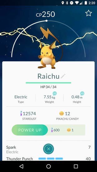 First catch thanks to the Pokeball
