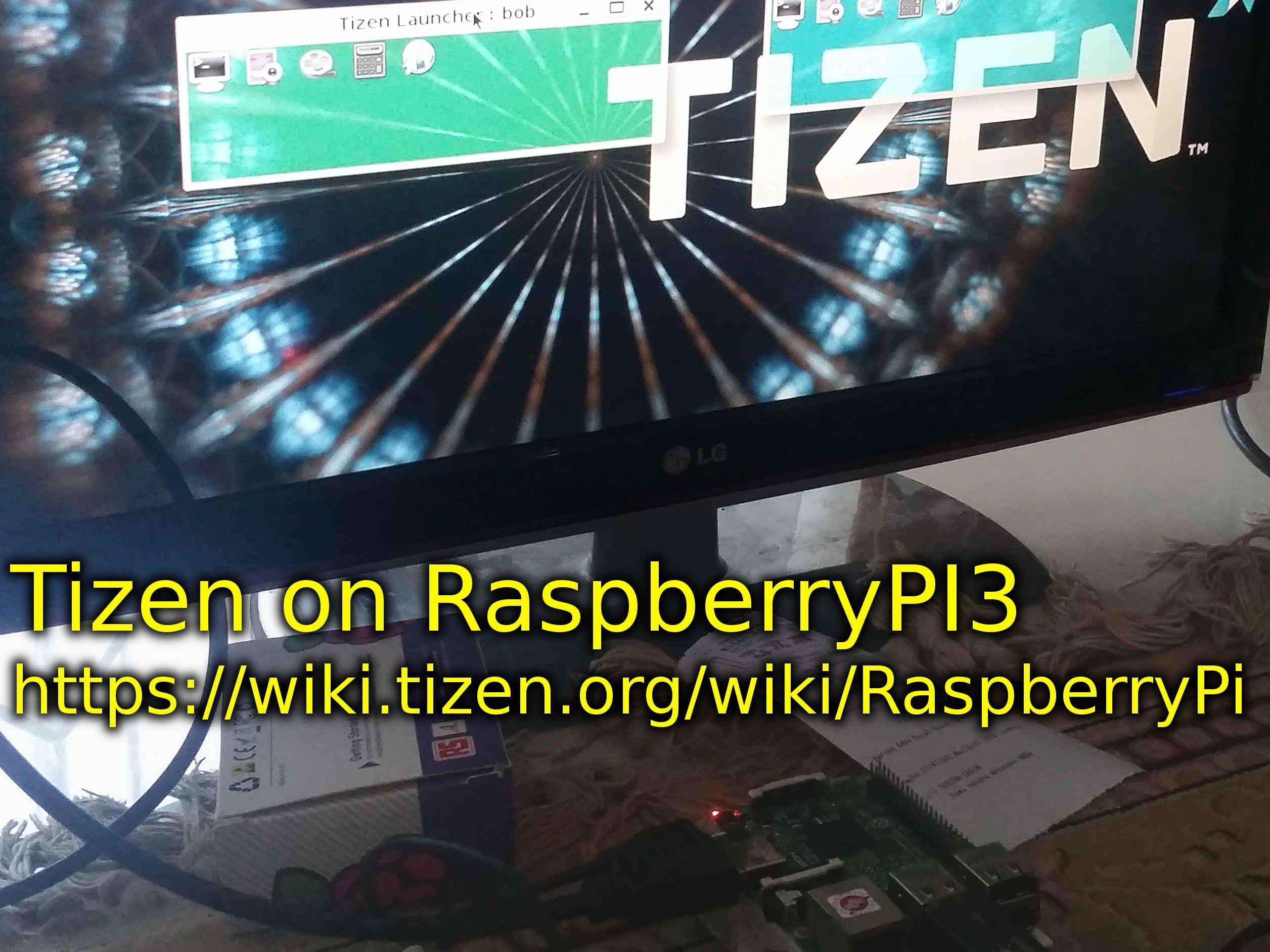 Tizen on Raspberry PI