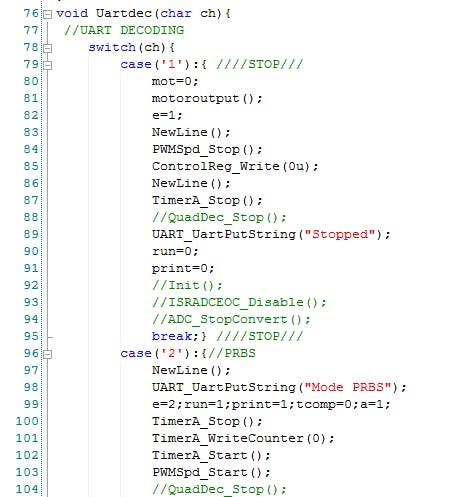 UART Interface PC PSOC - Hackster io