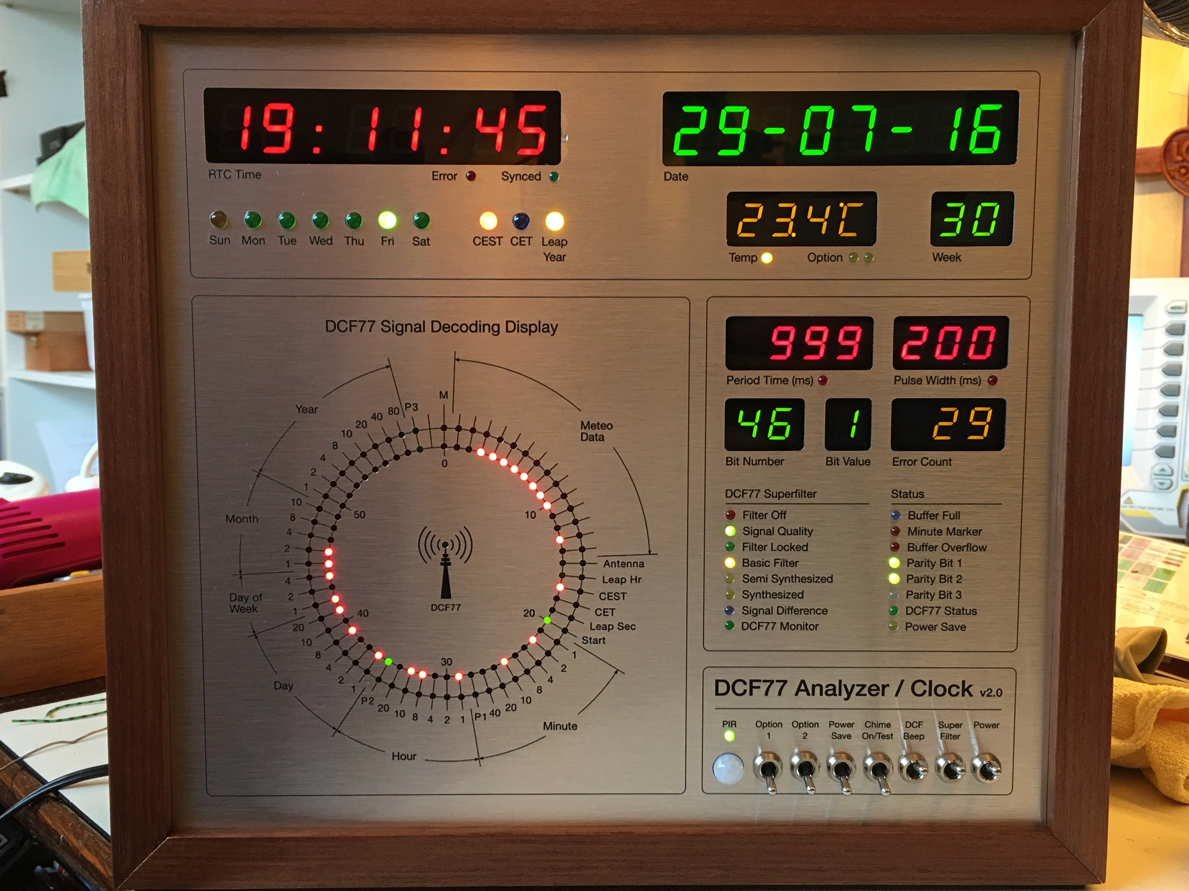 Dcf77 Clock Schematic Trusted Wiring Diagrams Electronics 7segment Led Page 4 Bittechnet Forums Analyzer V2 0 Hackster Io Wireless Telephone
