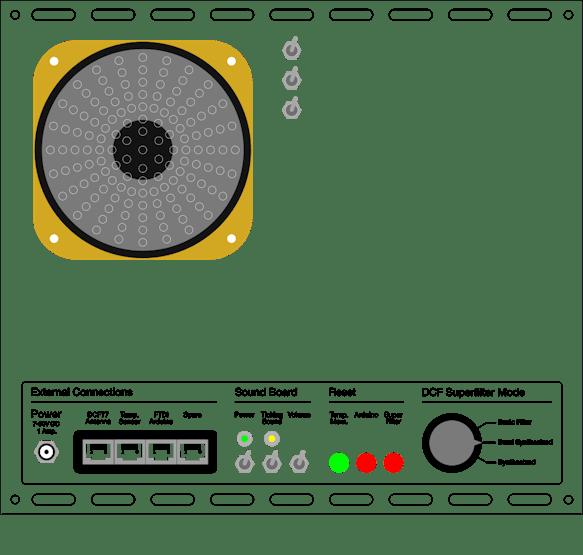 DCF77 Analyzer/Clock v2 0 - Hackster io