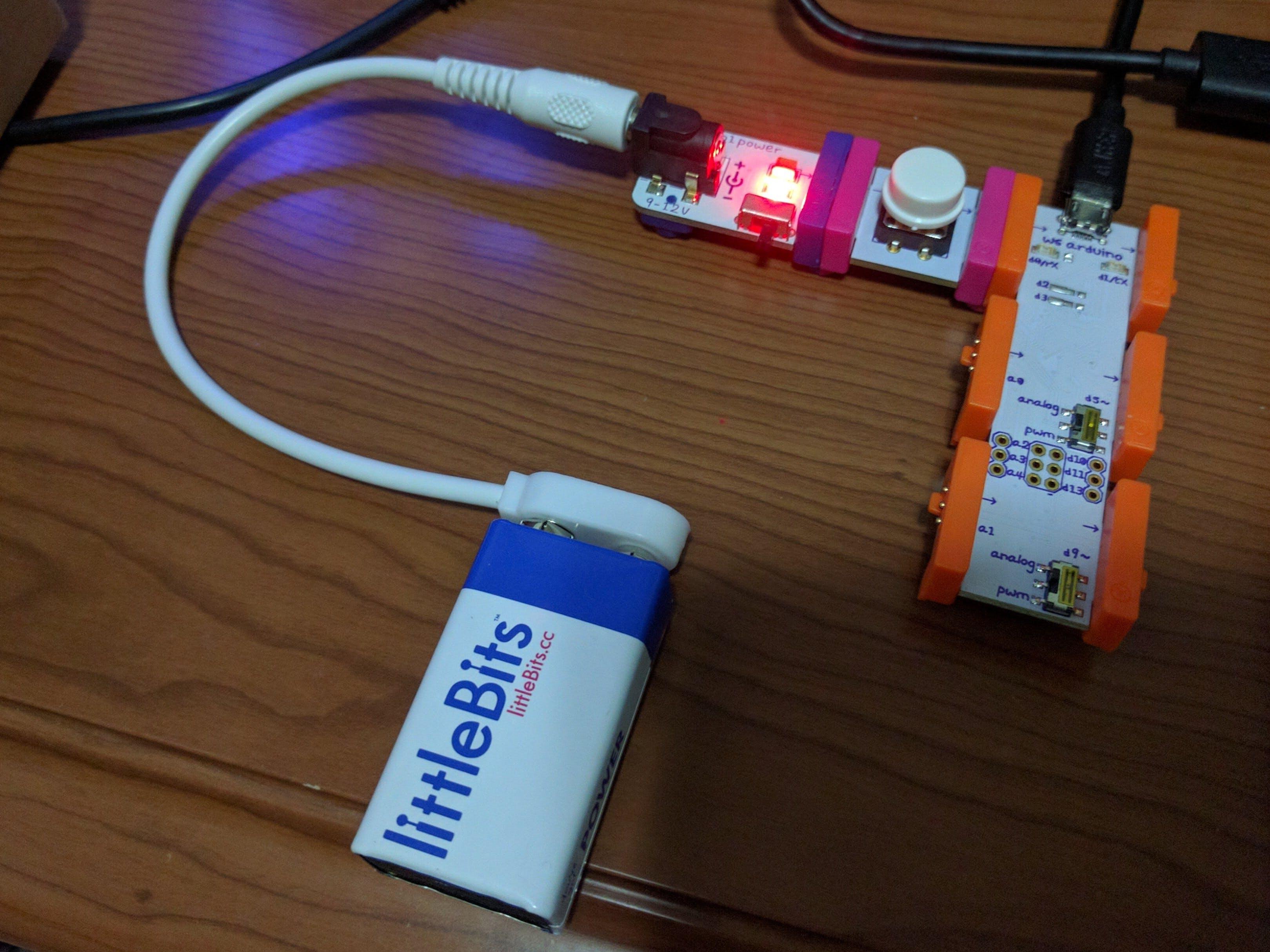 Littlebits Arduino Keyboard Prank